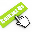 Contact us button concept — Stock Photo