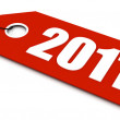 2011 new year — Stock Photo