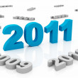 Stock Photo: New Year 2011