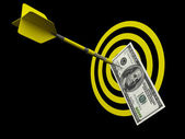 Target Success Concept — Stock Photo
