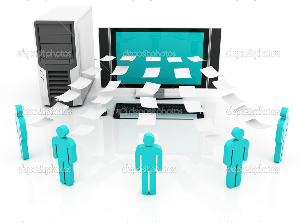 Information sharing  Stock Photo #7343679