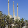 Stock Photo: Incinerator chimneys