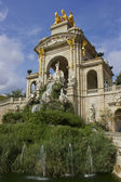 Fountains and statues — Stock Photo