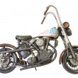Custom motorcycle isolated — Stock Photo