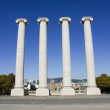 Stock Photo: Four Columns of Montju