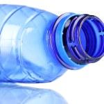 Crumpled empty plastic bottle — Stock Photo #6772194