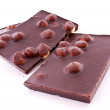 Chocolate with nuts — Stock Photo #6779790