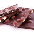 Chocolate with nuts — Stock Photo #6779795
