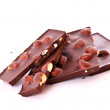 Chocolate with nuts — Stock Photo #6779797
