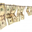 money laundering&quot — Stock Photo