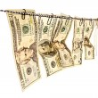 money laundering&quot — Stock Photo #6780181