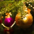 New year and Christmas decoration — Stock Photo