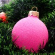 Foto Stock: New Year and Christmas decorations