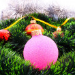 New Year and Christmas decorations — Stockfoto