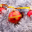 New Year and Christmas decorations - Stockfoto