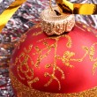 New Year and Christmas decorations — Foto Stock