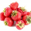 Stock Photo: Strawberries isolated on white