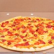 Tasty Italian pizza in box — Stock Photo #6785377