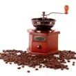 Coffee Grinder isolated on white — Stock Photo