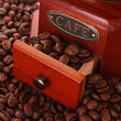 coffee grinder closeup — Stock Photo