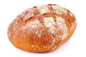 Loaf isolated on white — Stock Photo