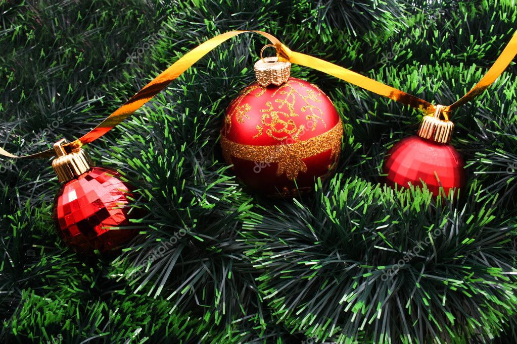 New Year and Christmas decorations — Stock Photo #6780863