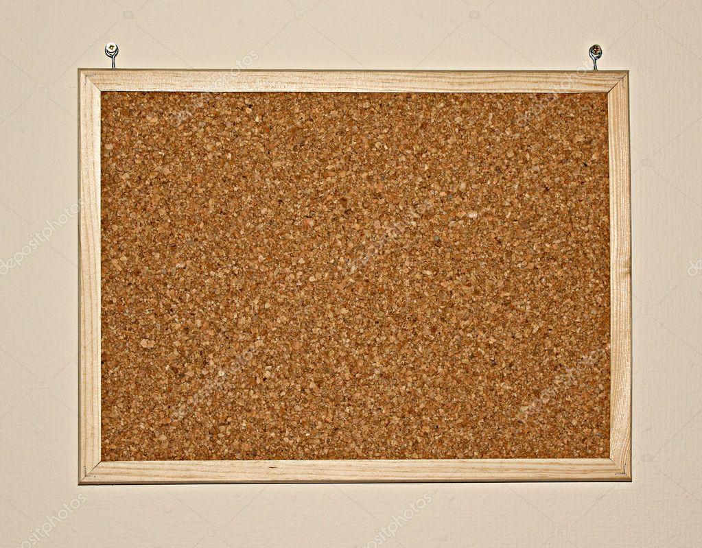 cork board on wall stock photo belchonock 6783336