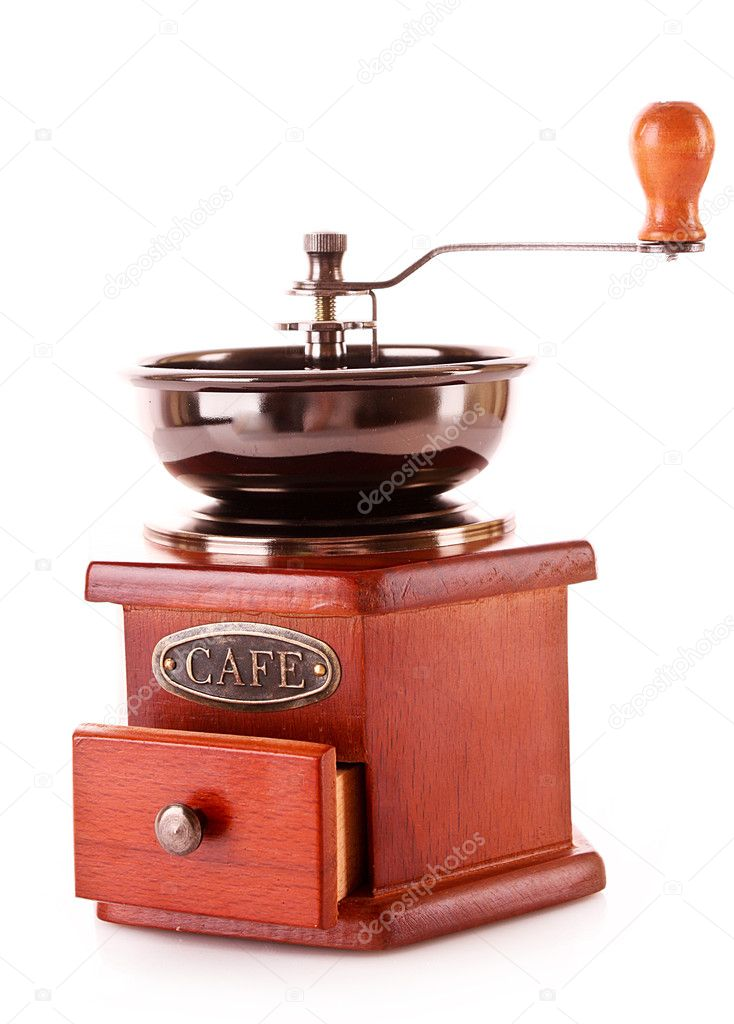 Coffee Grinder isolated on white — Stock Photo #6785890