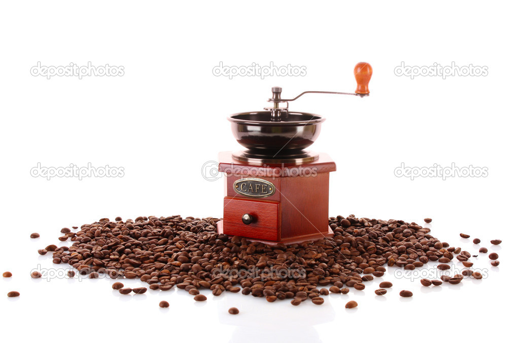 Coffee Grinder isolated on white — Stock Photo #6785897