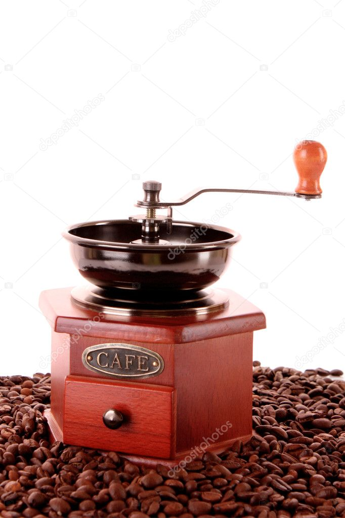 Coffee Grinder closeup — Stock Photo #6785899