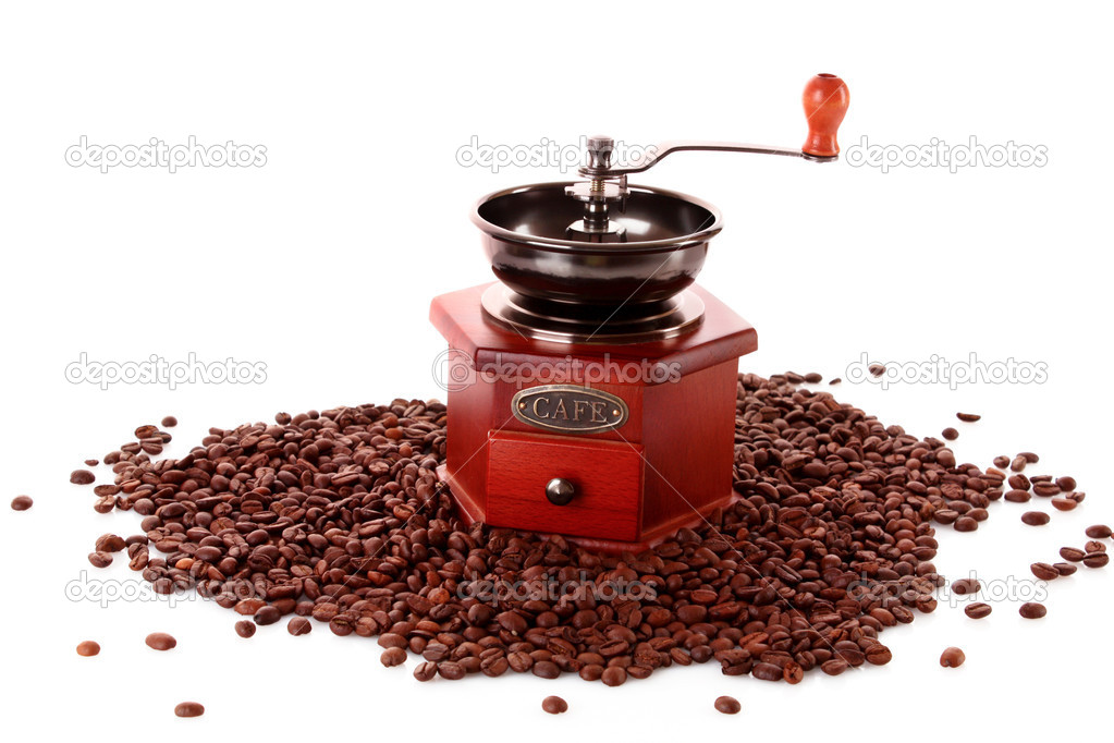 Coffee Grinder closeup — Foto de Stock   #6785900