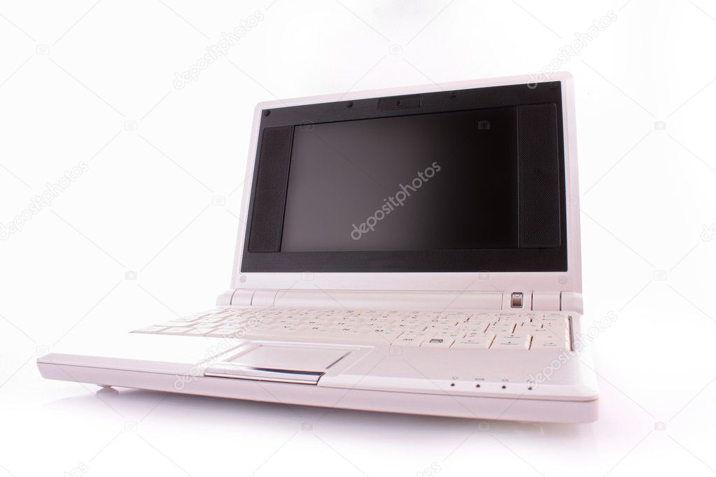 Netbook isolated on white — Stock Photo #6786004