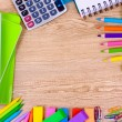 Bright stationery — Stock Photo