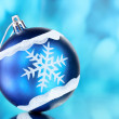 :beautiful Christmas ball — Stock Photo #6794373