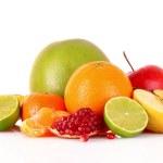 Fruits isolated on white — Stock Photo #6794537