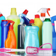 Detergent bottles — Stock Photo #6794618