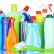 Detergent bottles — Stock Photo #6794619