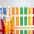 Test tubes - Foto Stock