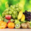 Ripe juicy fruits - Stock Photo