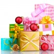 Royalty-Free Stock Photo: Beautiful bright gifts