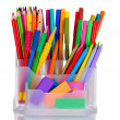 Stock Photo: Bright stationery