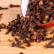 Stock Photo: Spice cloves in a bowl