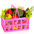 Vegetables in a basket  — Stock Photo