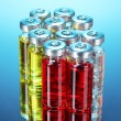Medical ampoules — Foto Stock