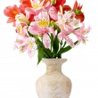 Beautiful bouquet in vase — Stock Photo