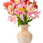 Beautiful bouquet in vase — Stock Photo