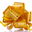 Yellow bow — Stock Photo #6798815