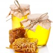 Beautiful combs and honey - Lizenzfreies Foto
