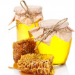 Beautiful combs and honey — Stock Photo #6798950