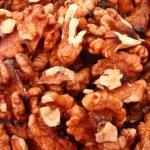 Closeup of a walnuts — Stock Photo